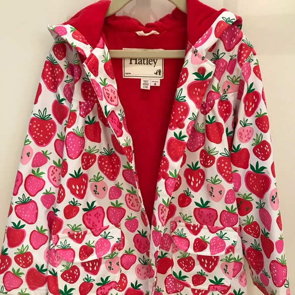 Hatley Other - Hatley Strawberry Raincoat